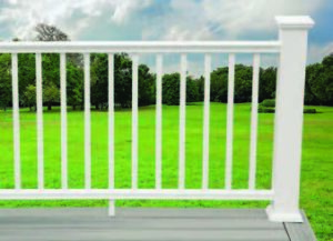 Extruded PVC Railing System