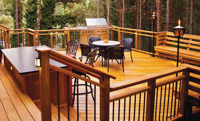 Arch Wood Protection Wolmanized Wood System