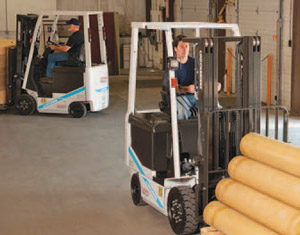 BX Series Forklifts From Unicarriers
