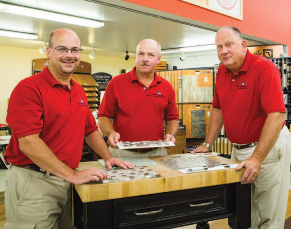 Founded in 1848, the company has been in the Smith family since the 1890s and is now run by (L-R) Matt Smith, president and CEO; his brother, Jim Jr., vice president of outside sales and commodity purchasing; and their brother-in-law, Dennis Mryglot, vice president of operations.