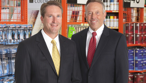 Dan Starr, left, will succeed Bob Taylor as President and CEO when Taylor retires in January, 2016.