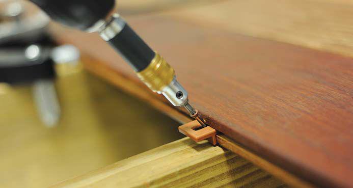 DeckWise Extreme Hidden Deck Fasteners