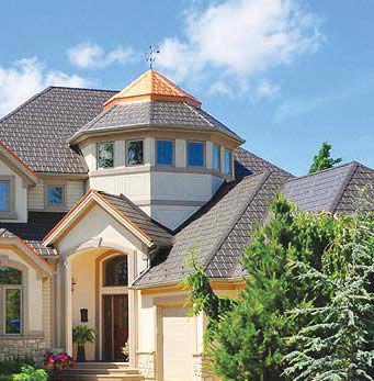 EDCO steel roof