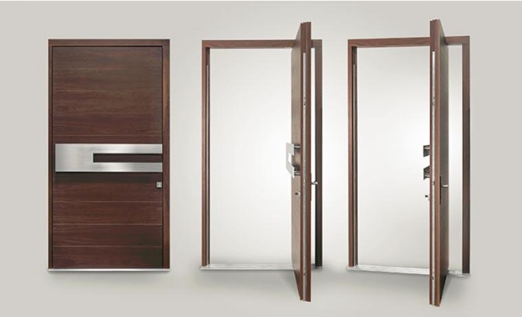 Glenview pivot doors