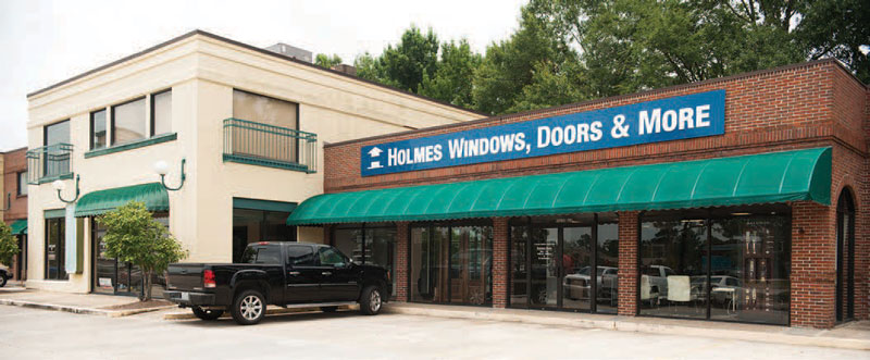 Satellite Success: Holmes Building Materials expands through small locations.