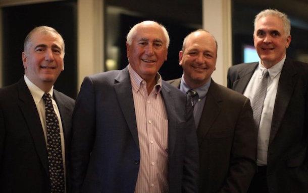 Jay Torrisi, Al Torrisi, Mark Torrisi, Joe Torrisi 70th Anniversary Jackson Lumber