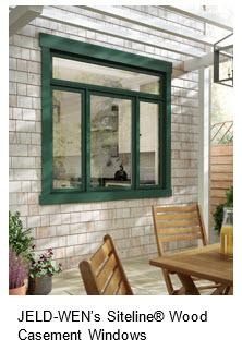 Jeld-Wen Wood Casement Windows