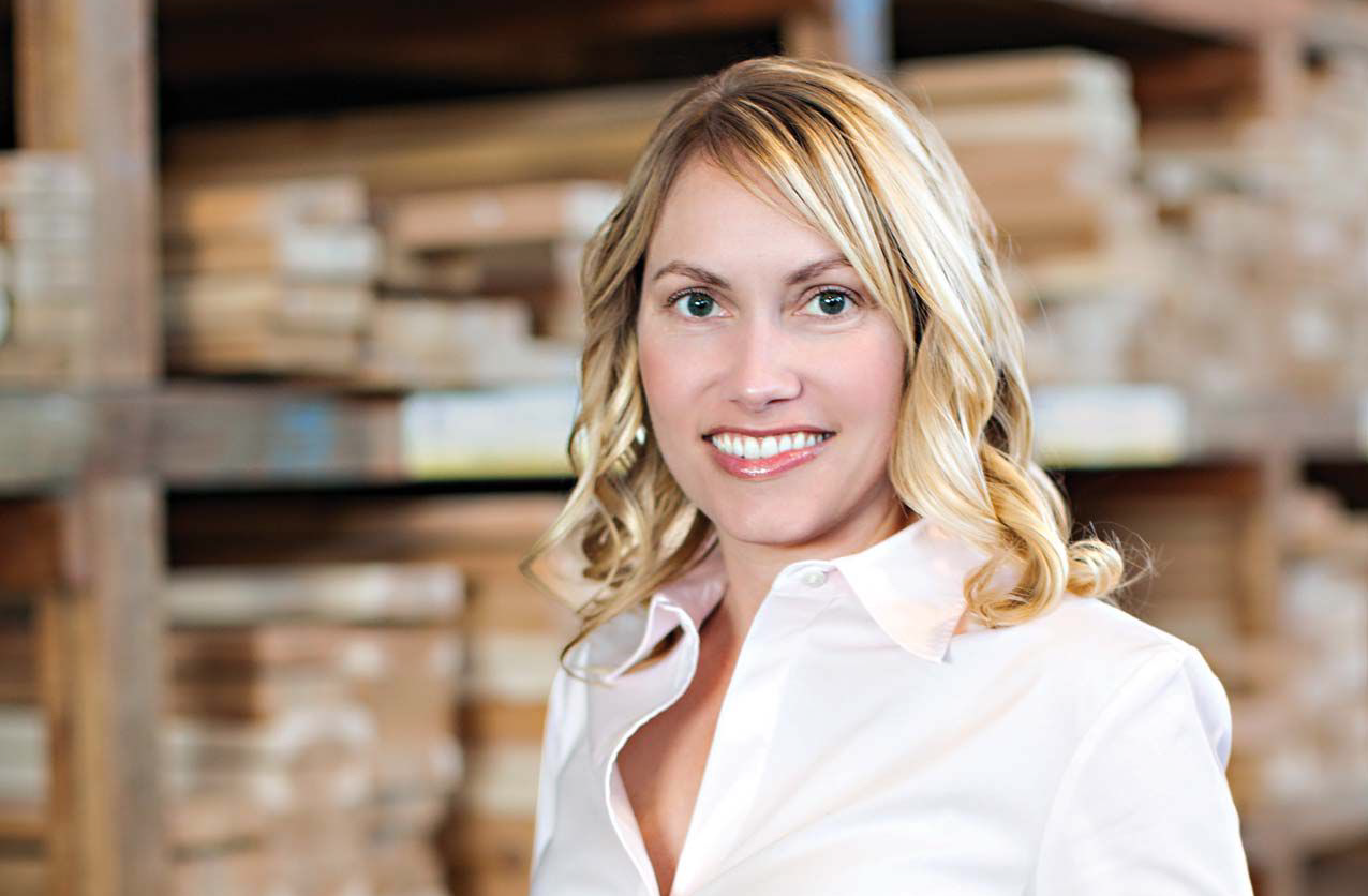 Jessica Scerri CEO of Golden State Lumber