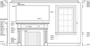 Kuiken-Brothers-Federal-Mantel-Room-cad-drawing