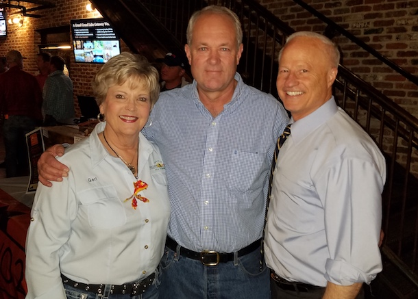 From left: Geri Adams, MSLBMDA Executive Vice President; Scott Yates, Denver Lumber and NLBMDA Past Chairman; Rep. Mike Coffman.