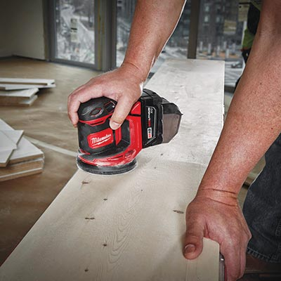Milwaukee random orbit sander