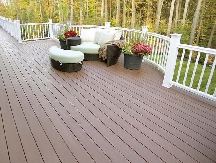 MoistureShield Pro capstock decking