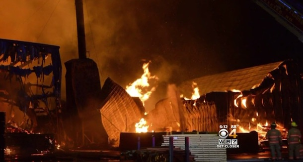 Northland Forest Products fire