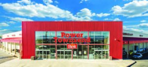 Power Townsend - Front Entrance
