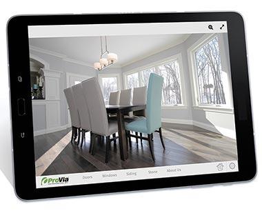 ProVia iPad app