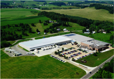 ProVia's expanded manufacturing campus in Walnut Creek, Ohio