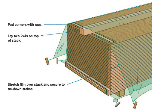 Storing-Subfloor-Panels