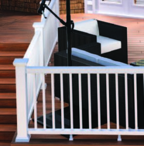 Symmetry Railing from Fiberon