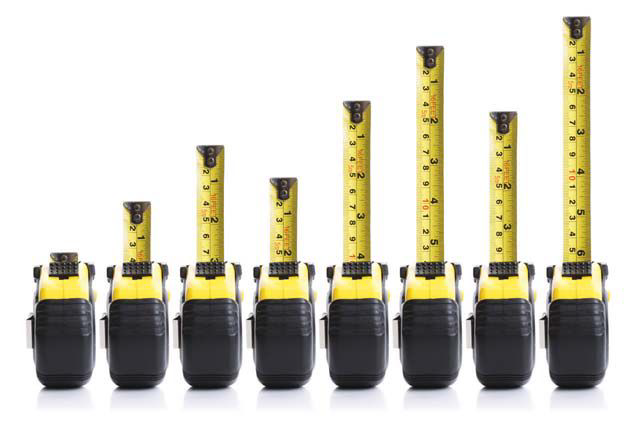 al sherman measuring success measuring tape