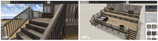 AZEK 3D Deck Designer Tool