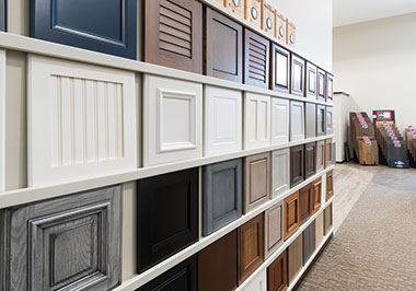 cabinet door showroom