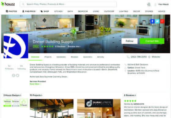 houzz.com - drexel building supply