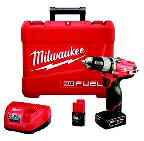 Milwaukee M12 Drill'Driver Kit
