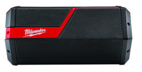 Milwaukee Tool's Wireless Jobsite Speaker