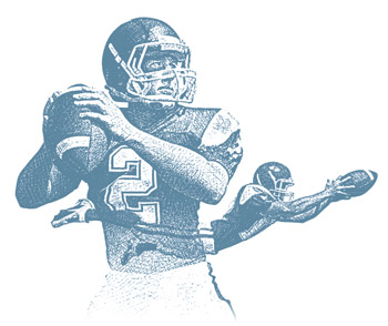 Selling is a passing play— you need a QB and a Wide Receiver.