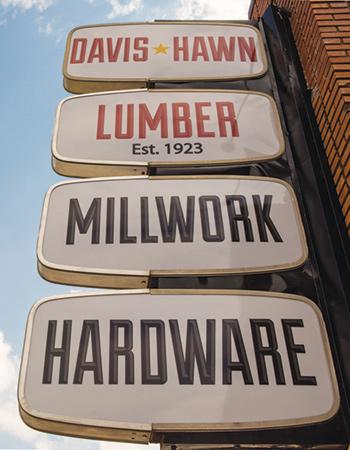 Davis-Hawn Signage