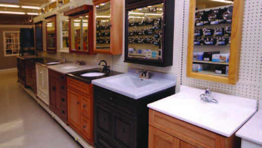 vanity showroom